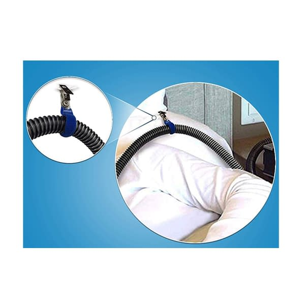 CPAPhero CPAP Hose Holder Clips Easily Clip to Bedding, Clothing and More!