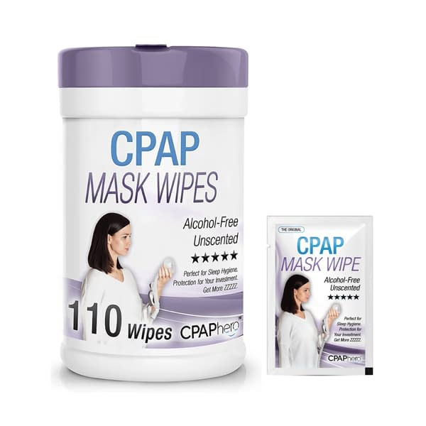 CPAPhero CPAP Mask Cleaning Wipes
