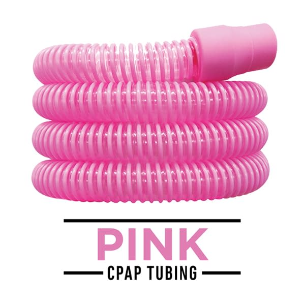 CPAPhero Pink CPAP Tubing