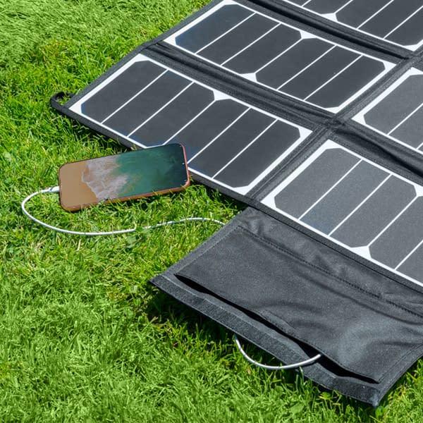 Freedom 50W Solar Panel Phone Charging