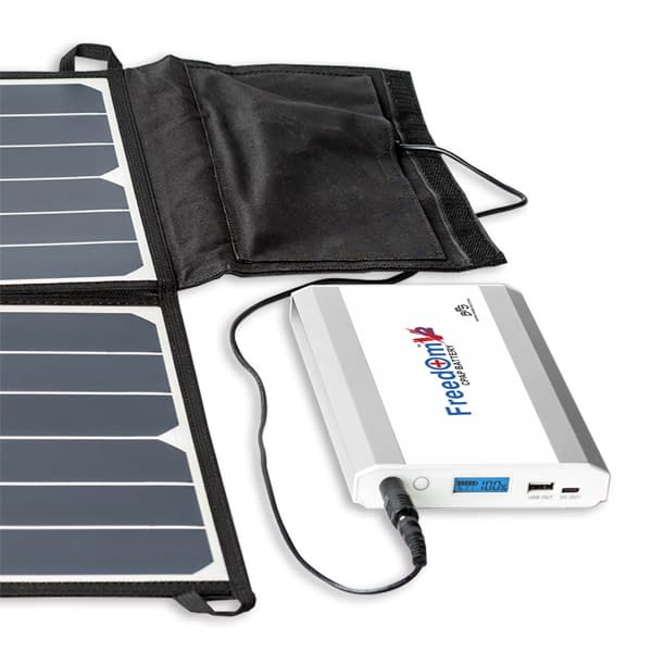 Freedom 50W Solar Panel Phone Freedom V² CPAP Battery Charging