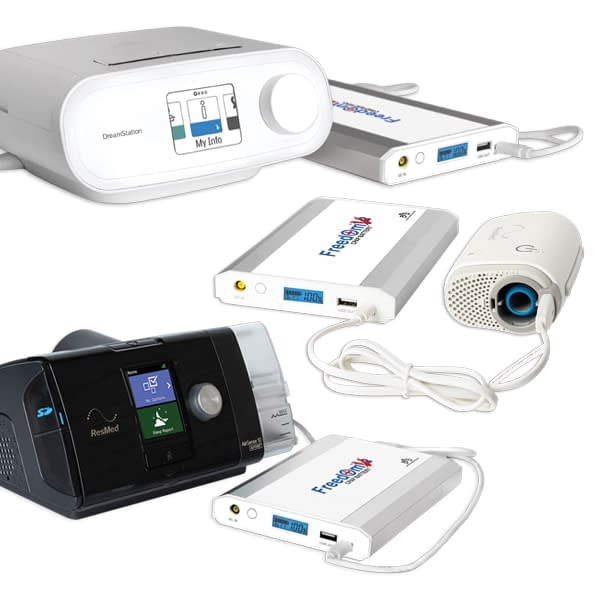 Freedom V² CPAP Battery Works with Many CPAP Machines