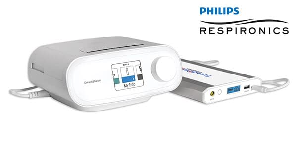 Freedom V² CPAP Battery with Philips Respironics DreamStation