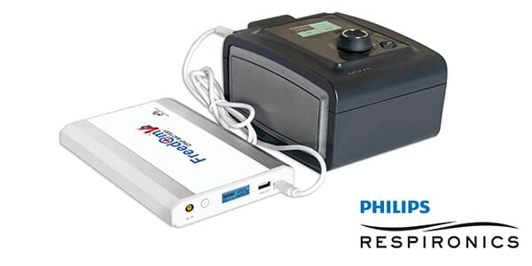 Freedom V² CPAP Battery withPhilips Respironics System One 60 Series