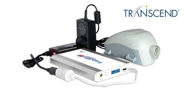 Freedom V² CPAP Battery with Transcend Travel CPAP