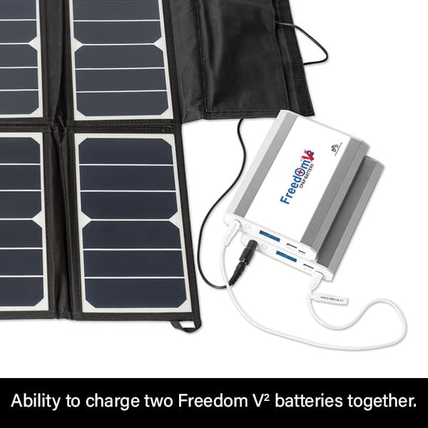 Ability to Charge two Freedom V² CPAP Batteries Together