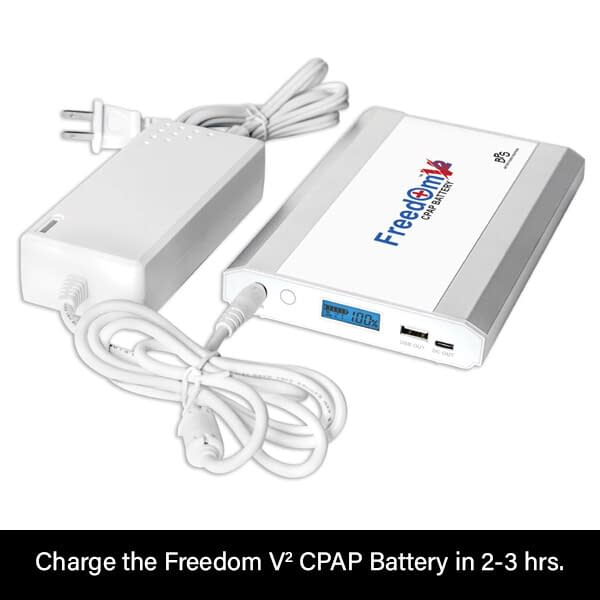 Freedom V² CPAP Battery AC Charging