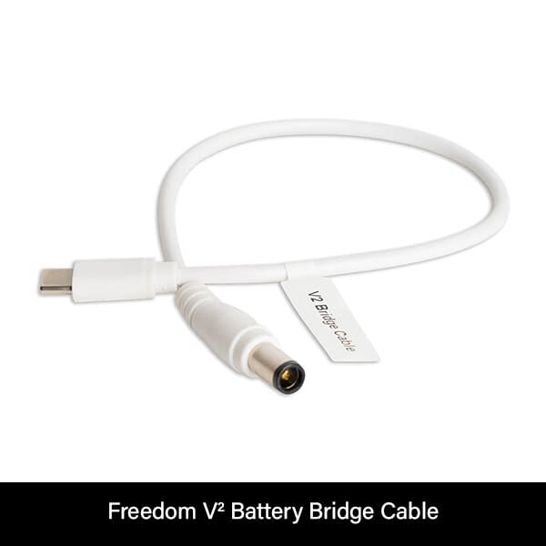 Freedom V² CPAP Battery Bridge Cable