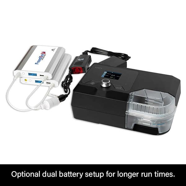 Freedom V² CPAP Battery Dual Mode 3B Luna II