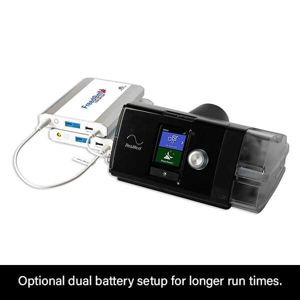 Freedom V² CPAP Battery Dual Mode ResMed AirSense 10