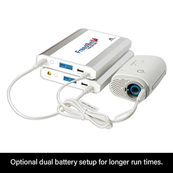 Freedom V² CPAP Battery Dual Mode ResMed AirMini
