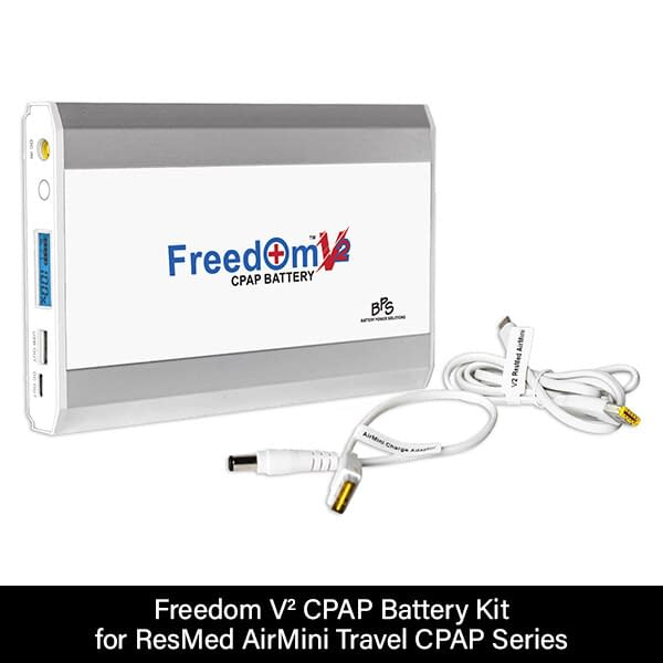 Freedom V² CPAP Battery Kit for ResMed AirMini Travel CPAP Series