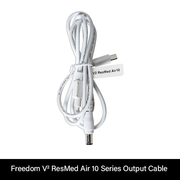 Freedom V² CPAP Battery ResMed Air 10 Series Output Cable