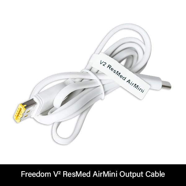 Freedom V² ResMed AirMini Output Cable